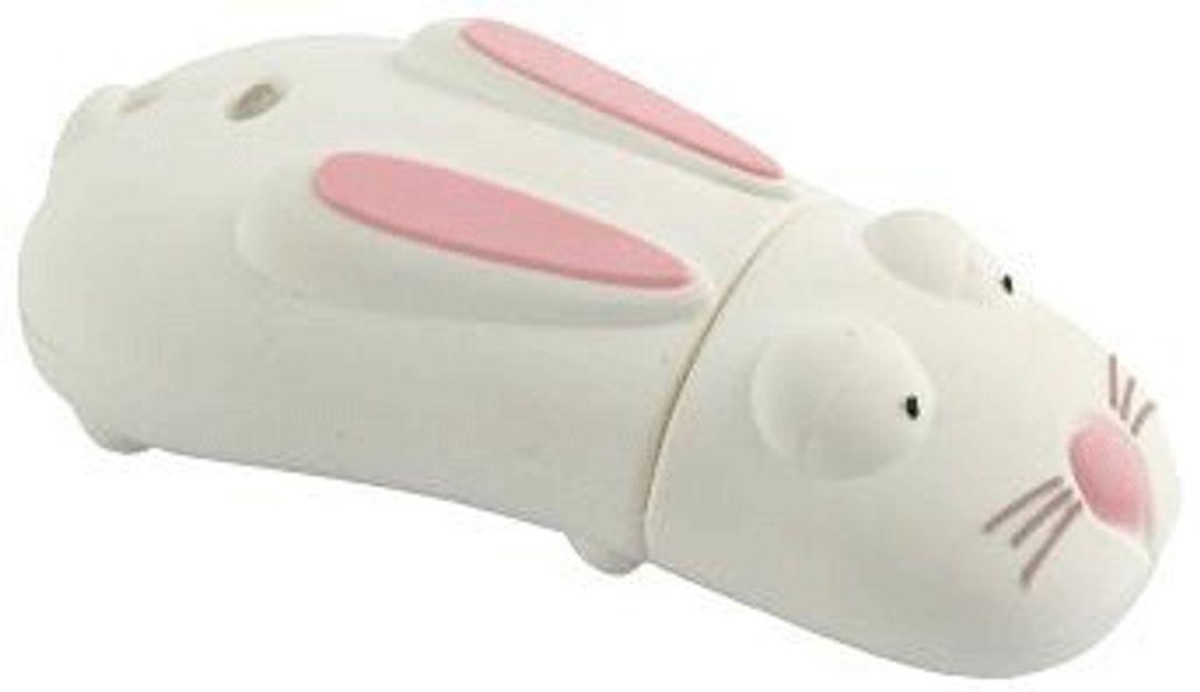 Флешка Кролик Белый 2 Гб