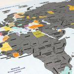 Скретч-карта мира True Map Plus Silver