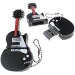Флешка Гитара Gibson Les Paul Custom 16 Гб В открытом и закрытом виде