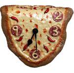 Часы Сальвадора Дали Пицца Вид спереди