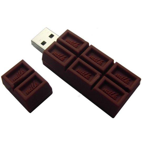 Флешка Шоколадка 16 Гб В открытом виде