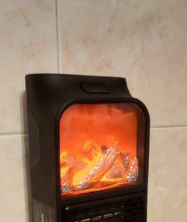 Портативный мини-обогреватель с пультом Flame Heater Отзыв
