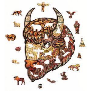 Деревянный пазл Puzzlewood Американский бизон