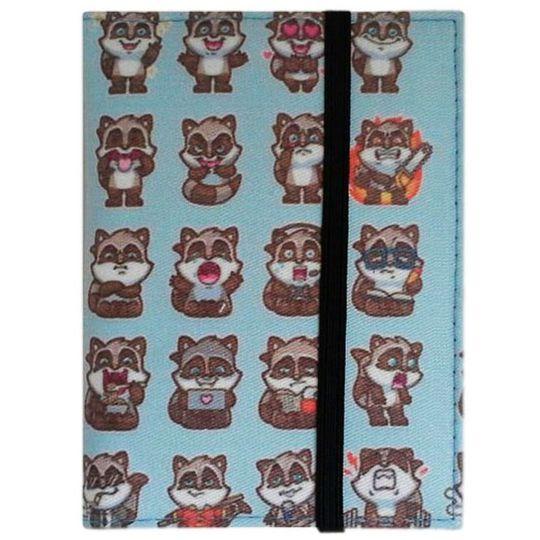 Обложка для автодокументов Raccoon