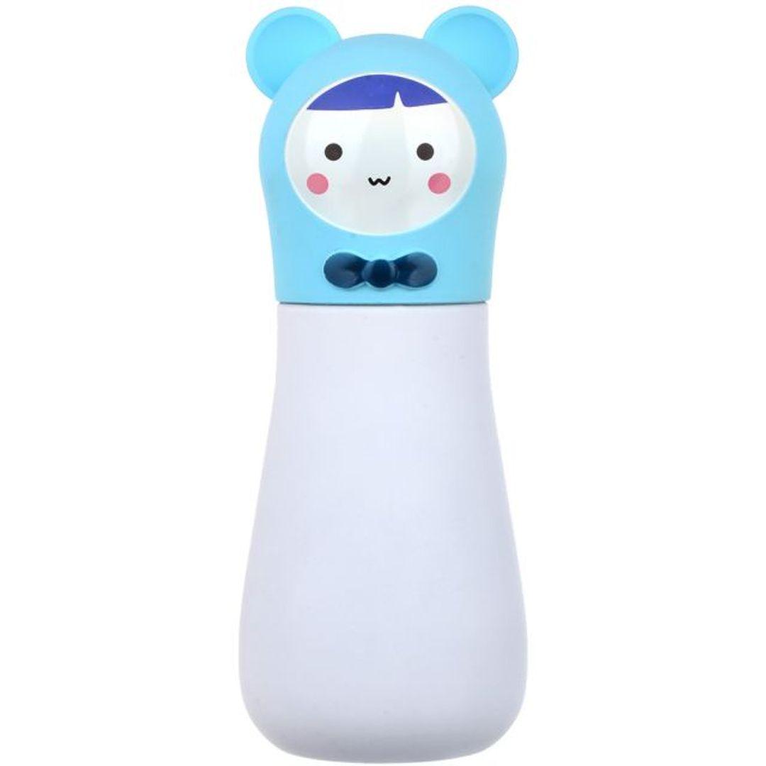 Кружка-термос Мишка Bear (Белый с голубым)
