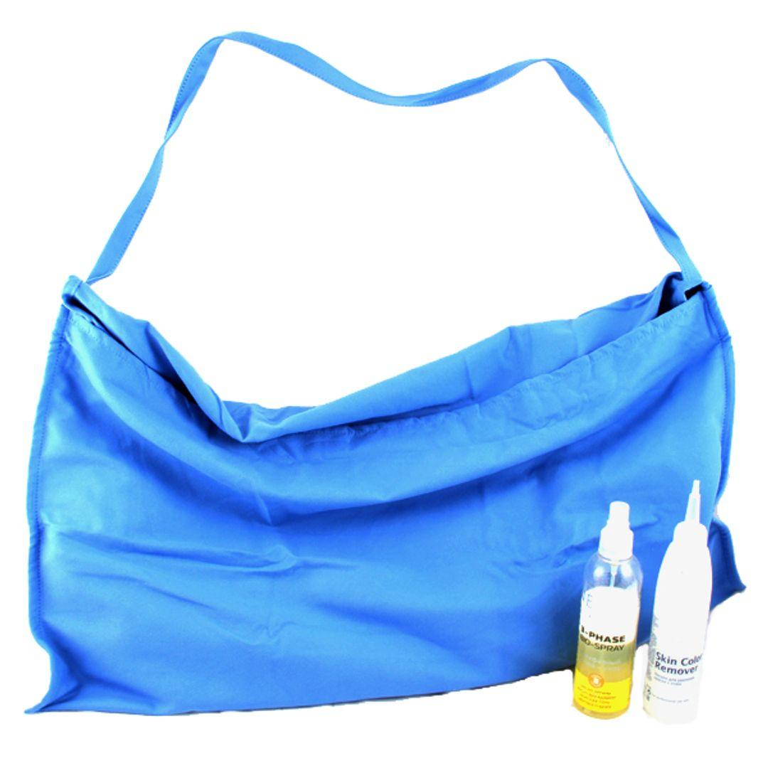 Пляжная сумка-лежак (Голубая)