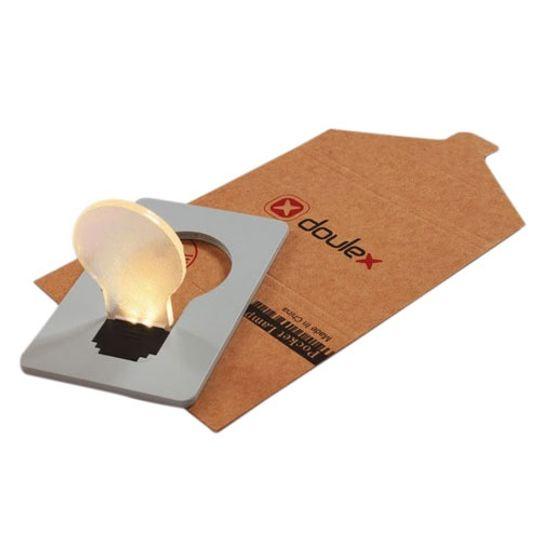 Лампочка Кредитка (Серый)