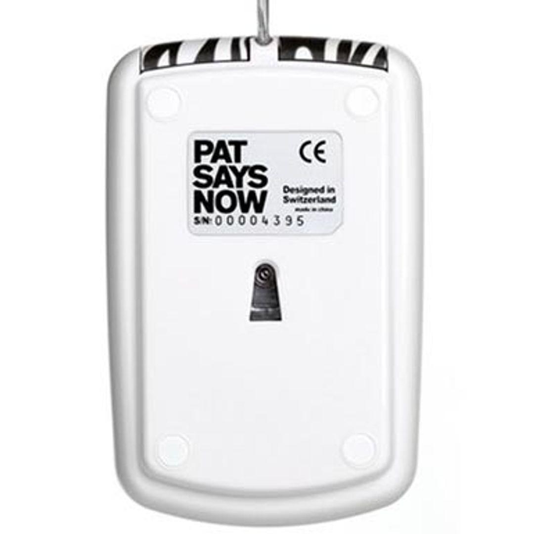 Мышь Pat Says Now Zebra