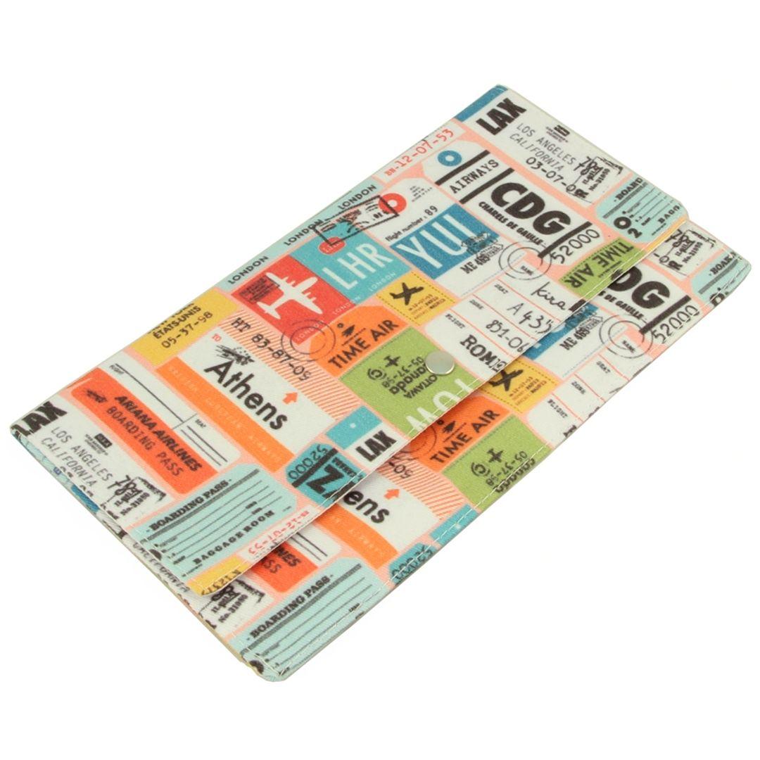 Конверт для путешествий Stamps Застежка-кнопка