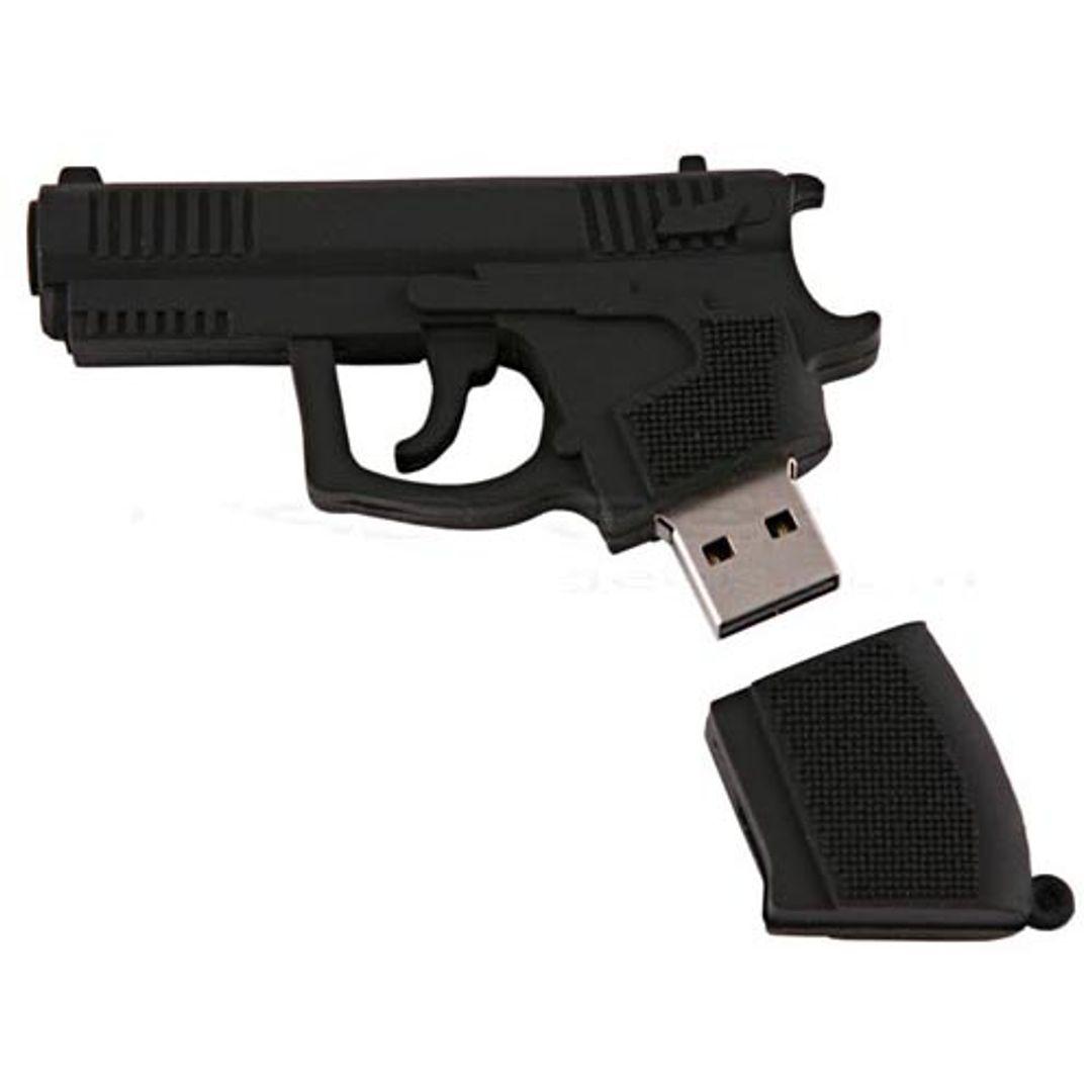 Флешка Пистолет 8 Гб Со снятой крышкой