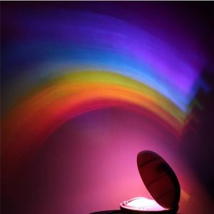 Ночник-проектор радуги Rainbow Projector