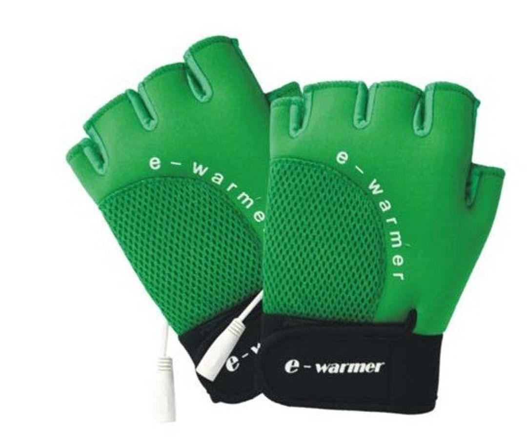 Перчатки с подогревом от USB e-warmer Зеленые