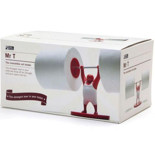 Держатель для туалетной бумаги Штангист Mr. T