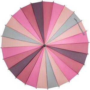 Зонт-трость Спектр (розовый)