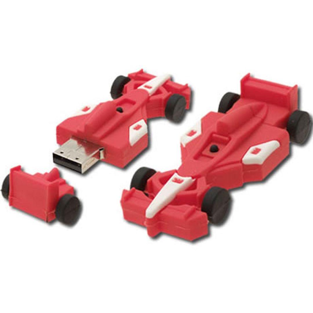 Флешка Формула-1 F-1 8Гб красная