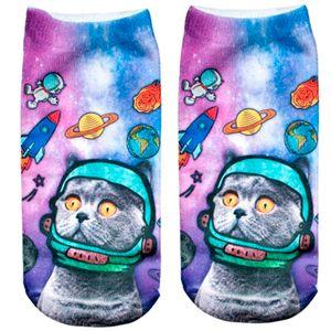 Носки Космический кот
