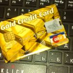 Флешка Кредитка Gold Credit Card 16 Гб Отзыв