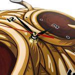 Часы настенные Макаронный монстр Циферблат и стрелки