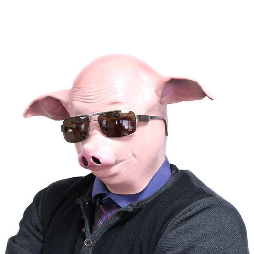 Маска Свинья