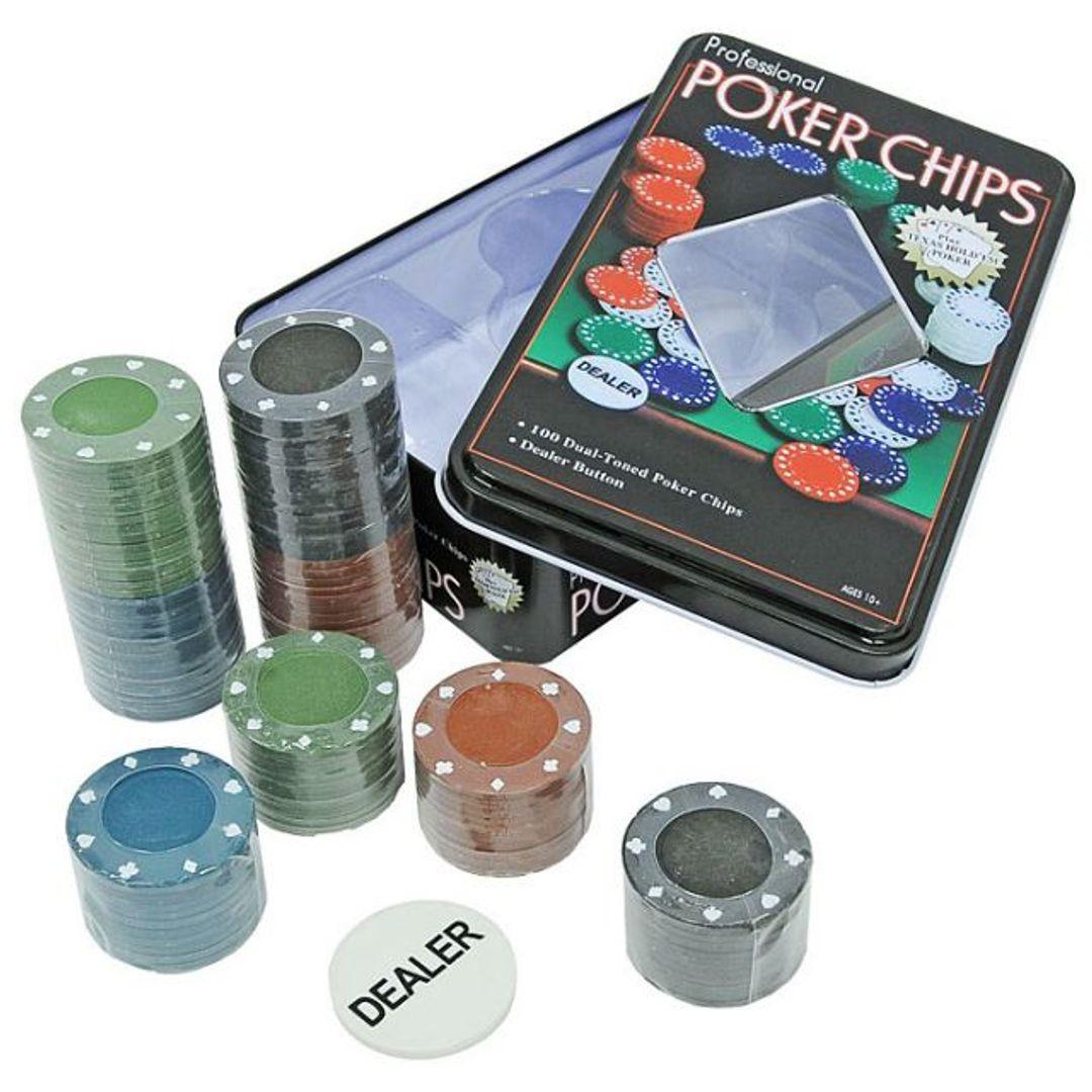 Покерный набор Poker Chips Упаковка и содержимое набора