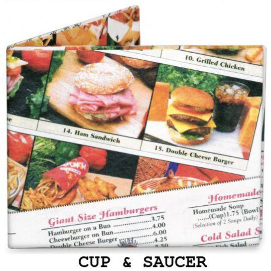 Бумажный Бумажник Mighty Wallet Cup & Saucer