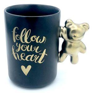Кружка Follow your heart Медведь