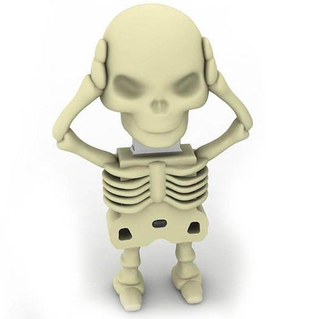 Флешка Скелет 16 Гб