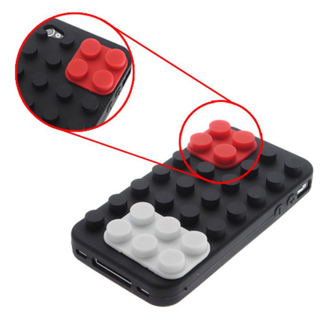 Чехол iPhone 4 Лего