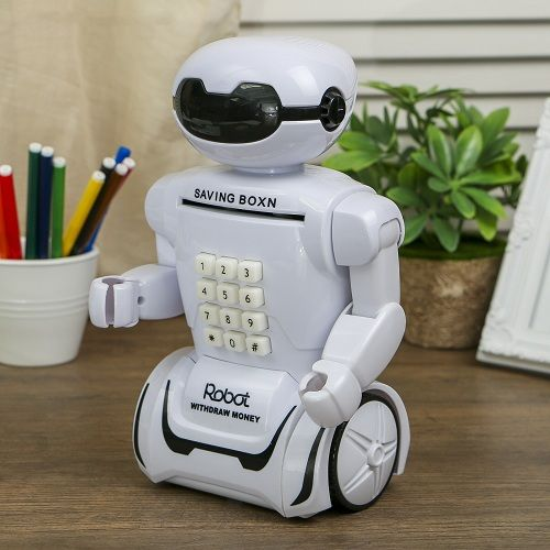 Копилка-светильник<br>Робот