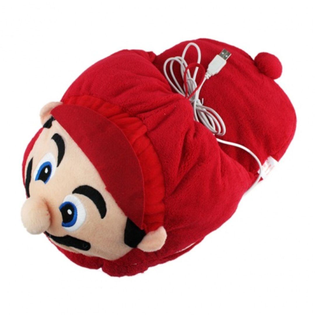 Тапок с подогревом от USB Mario