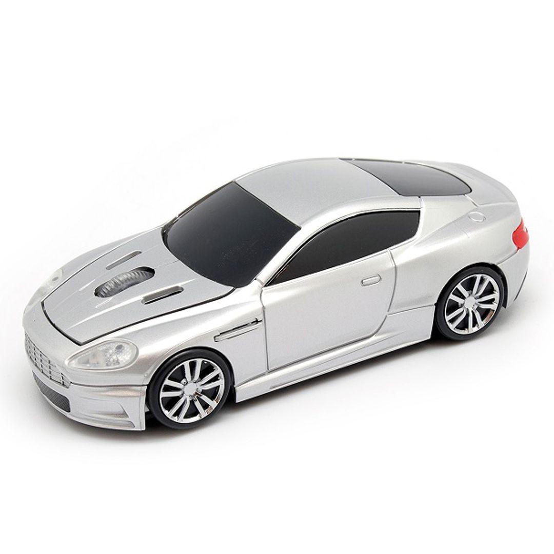 Серый спорткар