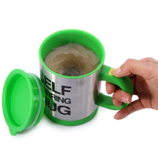 Кружка Мешалка Self Stirring Mug (Зеленый)