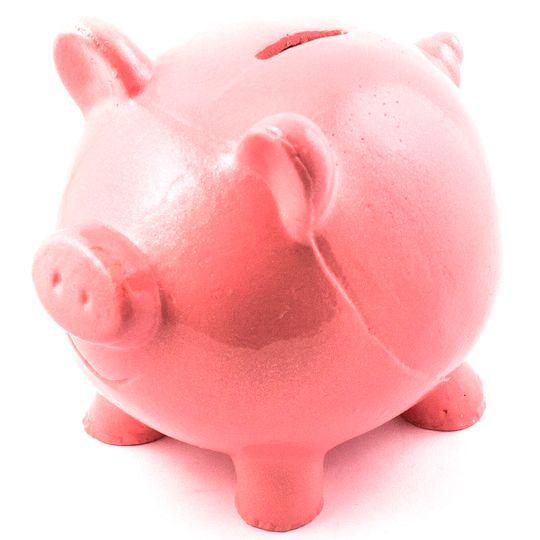 Копилка Свинка (Розовый)