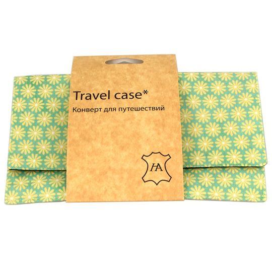 Конверт для путешествий Yellow Green В упаковке