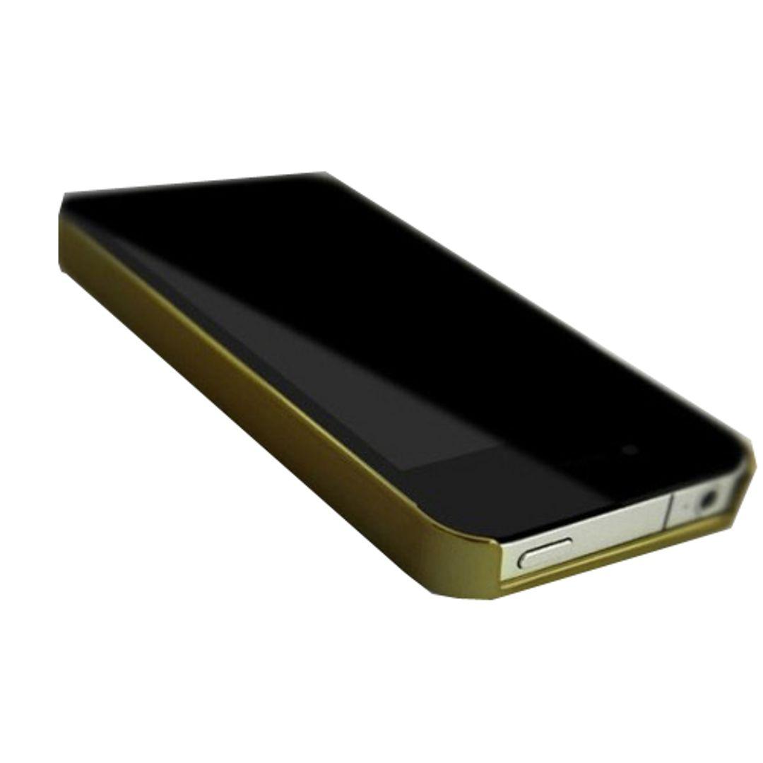 Чехол iPhone 4 Яблоко в стразах