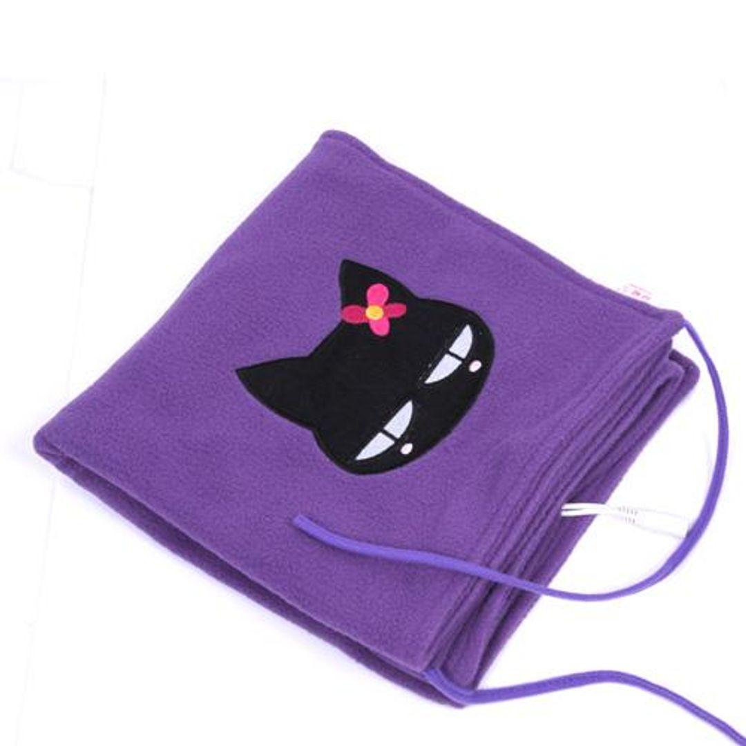 Накидка с подогревом от USB Кошка