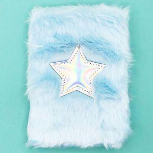 Блокнот плюшевый Blue Star