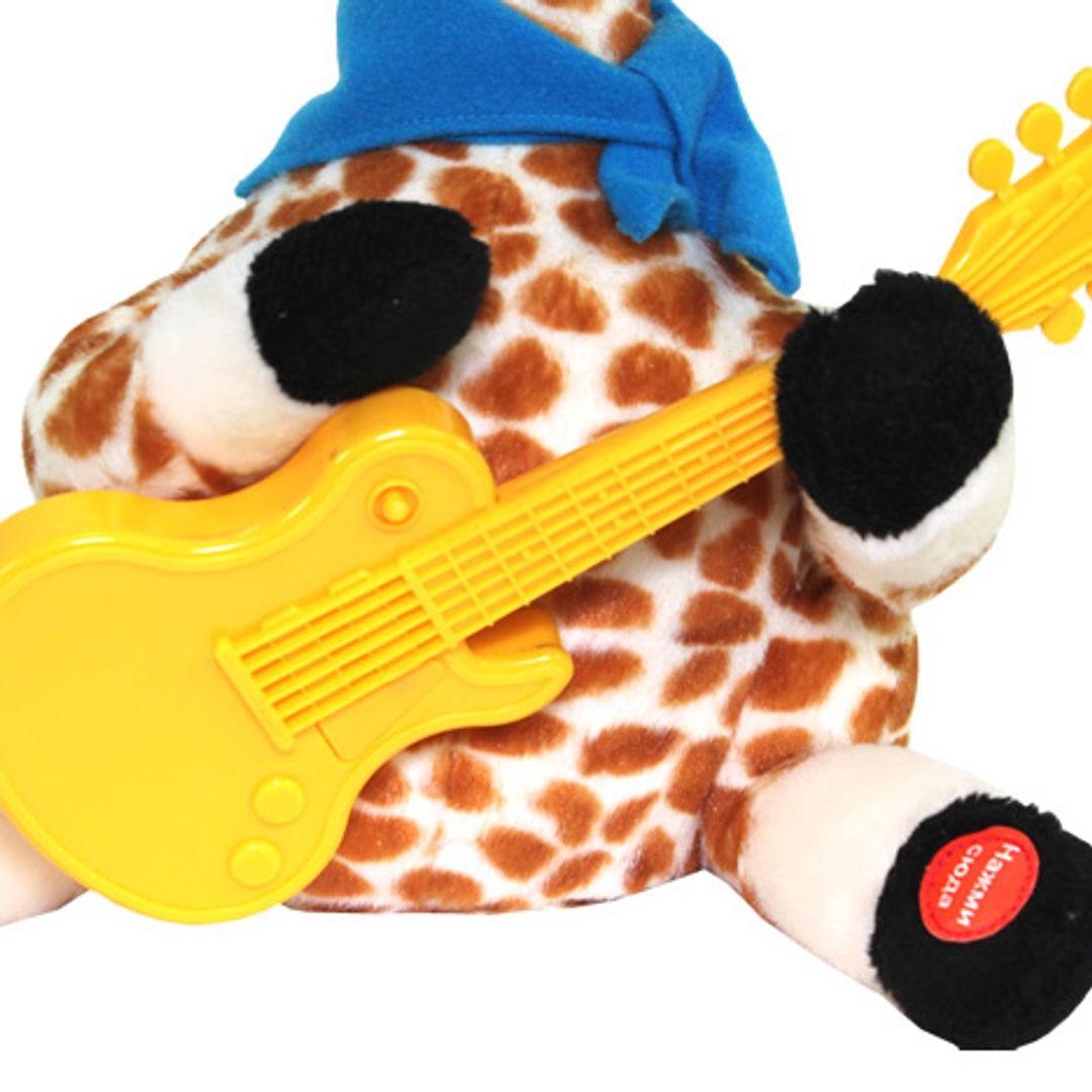 Музыкальная игрушка Влюбленный жираф Гитара