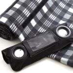 Плед с колонками Speaker Blanket