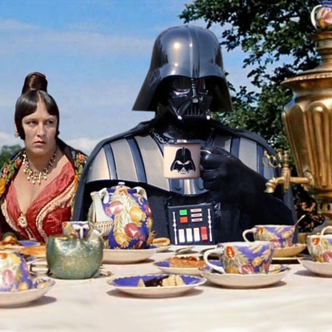 Эмалированная кружка Darth Vader В жизни