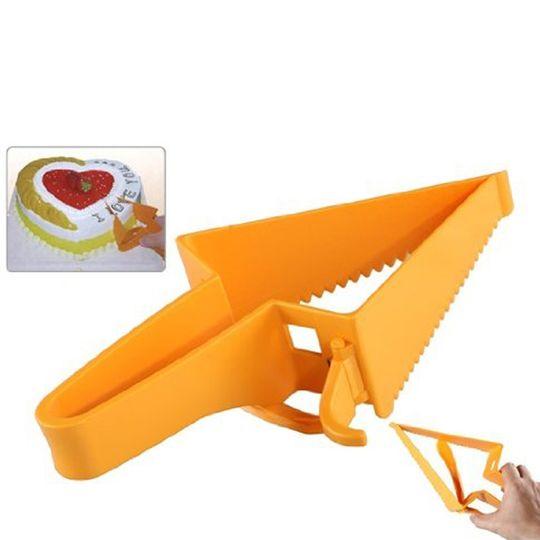 Нож Лопатка для торта Adjustable cake cutter (Оранжевый) Использование