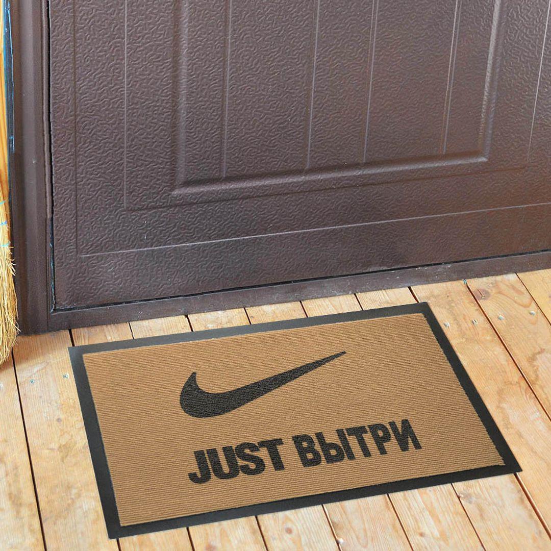 Коврик для входной двери Just вытри