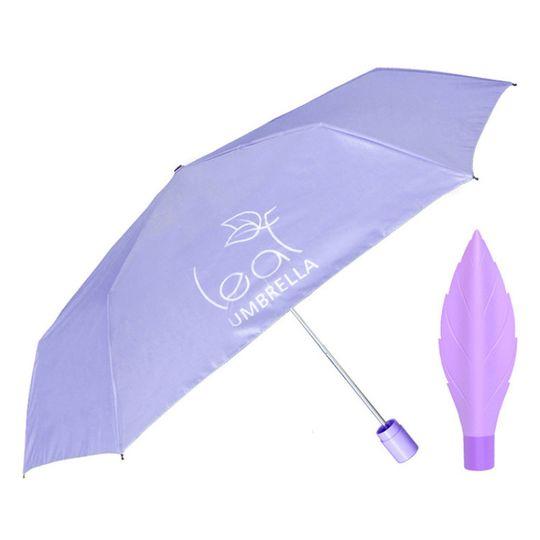 Зонт Лист Leaf Umbrella (Сиреневый)