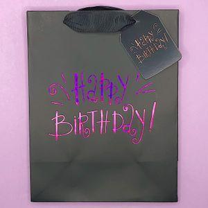Подарочный пакет Happy birthday S