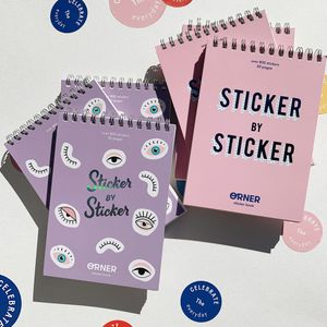 Стикербук Sticker by Sticker