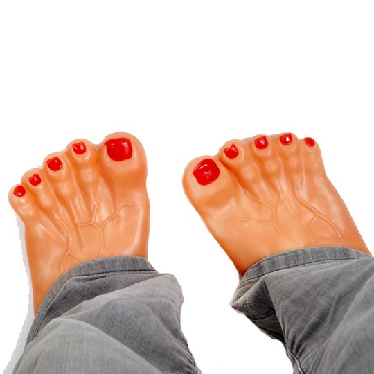 Тапочки Человеческие ноги