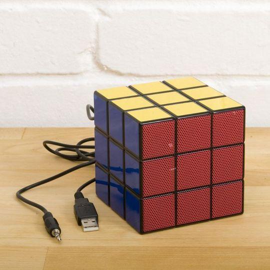 Колонка Кубик Рубика