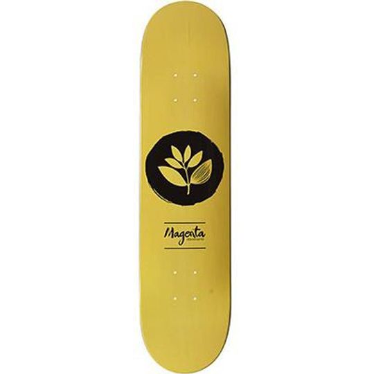 "Дека для скейтборда Magenta Yellow Logo 7,625"""