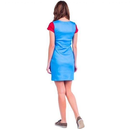 Платье Super Mario (Футляр) Вид сзади