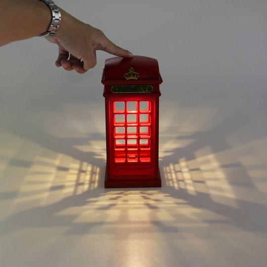 USB Светильник Красная английская телефонная будка